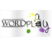 Word Play Poster