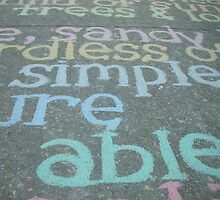 Writing on the Ground by Sydney Piper