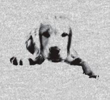 Golden Retriever Puppy Dog Engraving Kids Clothes