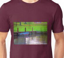 Rowboat in Autumn Unisex T-Shirt