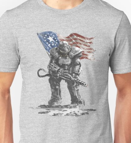 Fallout power armour suit Unisex T-Shirt