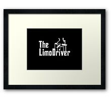 The Limo Driver Framed Print