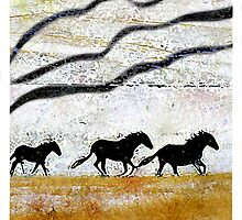 Horses by jenfinger77