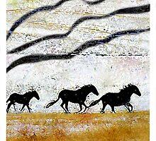 Horses by jenfinger77