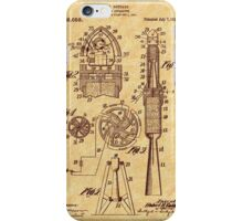1914 Goddard Rocket Patent iPhone Case/Skin