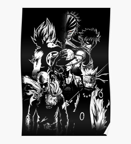 anime mix Poster