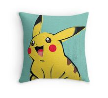 Warhol Pikachu Throw Pillow