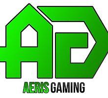 AerisGaming Green Logo by aerisgaming