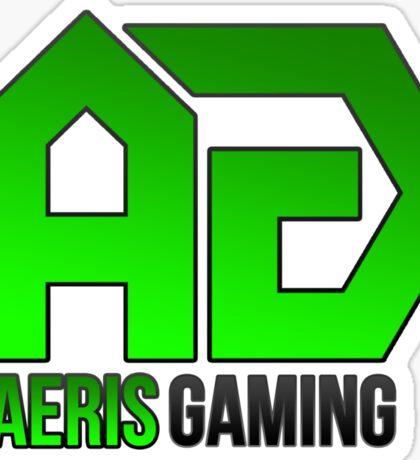 AerisGaming Green Logo Sticker