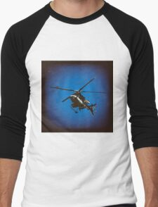 Copter Number Two Men's Baseball ¾ T-Shirt