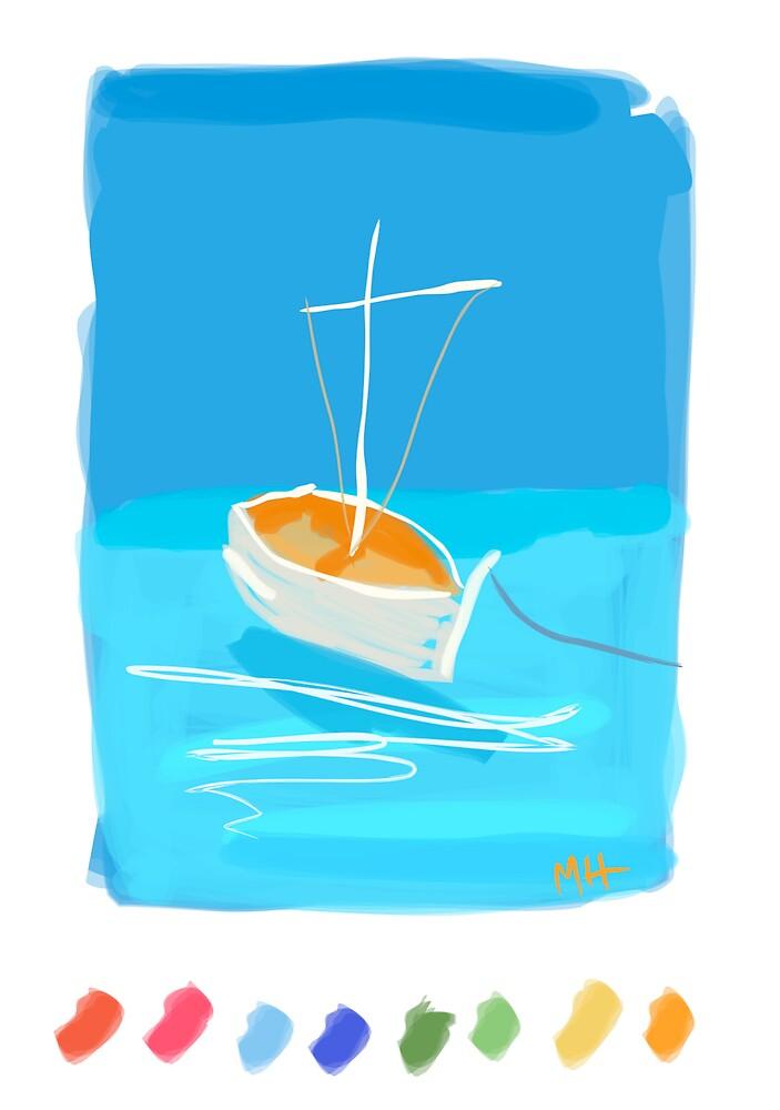 Beach Boat by Martin Howard