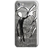 Slender Man iPhone Case/Skin