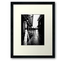 Gunwharf Stroll Framed Print