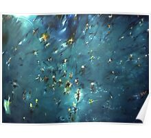flooded forest (painting) Poster