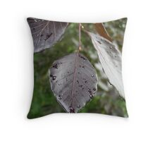 Leaves of Ireland Throw Pillow