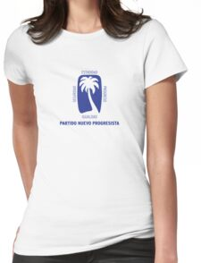 Partido Nuevo Progresista Womens Fitted T-Shirt