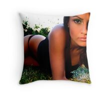 The Inbetween is Ours Throw Pillow