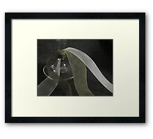 Ribbons and Wine Framed Print