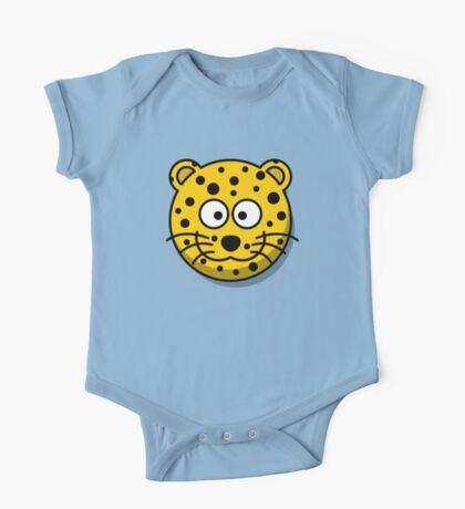Baby Leopard One Piece - Short Sleeve