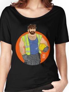 ADAM LIKES WORK Women's Relaxed Fit T-Shirt