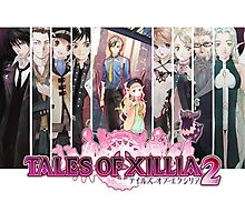Tales Of Xillia 2 Group Photographic Print