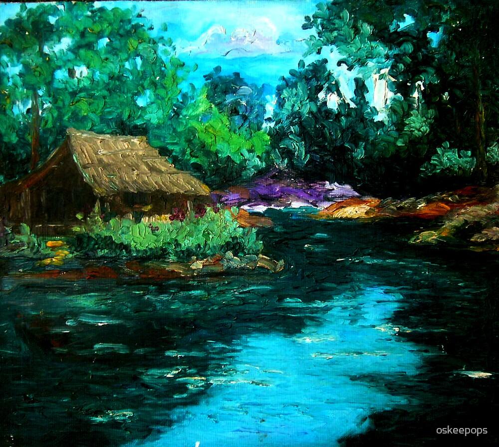 Native House(Dampa) by oskeepops