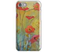 Late Summer Flowers iPhone Case/Skin