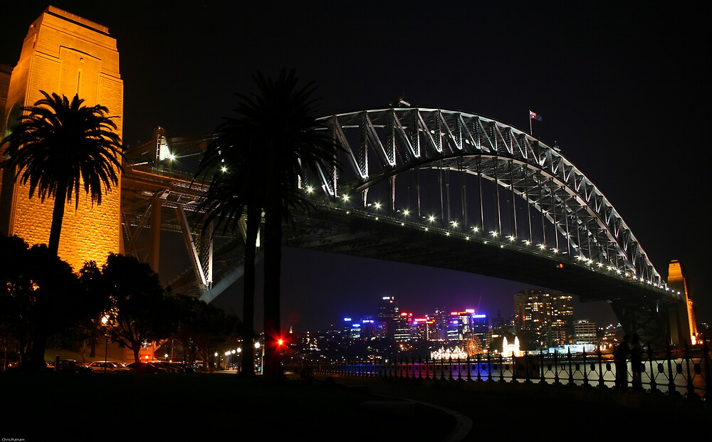 Harbour Bridge By Night by Chris Putnam