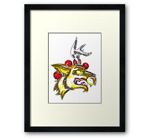 Party Hardy Creature Framed Print