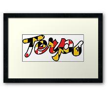 Terps 3 Framed Print