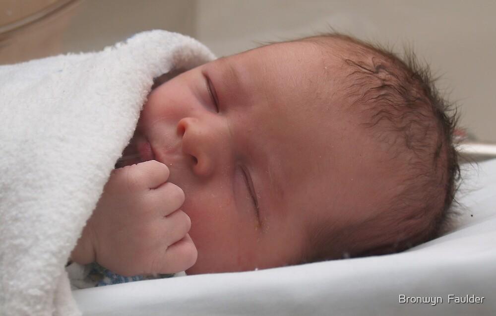 My little grandson by Bronwyn  Faulder