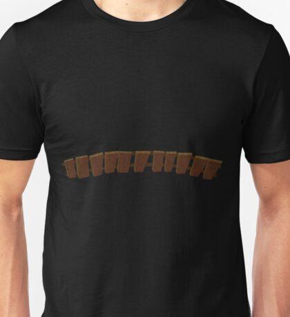 Glitch Firebog Land hearth screen Unisex T-Shirt