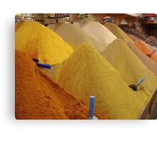 Spices, Spices, & Spices Canvas Print