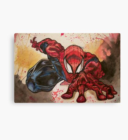 Hey Spidey  Canvas Print