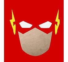 DC Comics: The Flash (Minimalist) Photographic Print