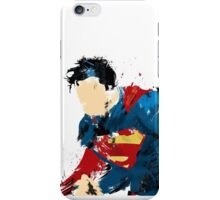 Man of steel abstract  iPhone Case/Skin