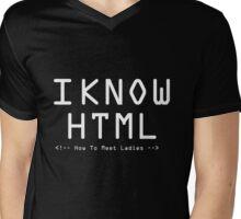 Html - How to meet ladies Mens V-Neck T-Shirt