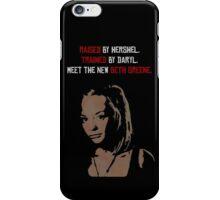 The New Beth Greene. iPhone Case/Skin