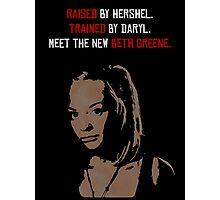 The New Beth Greene. Photographic Print