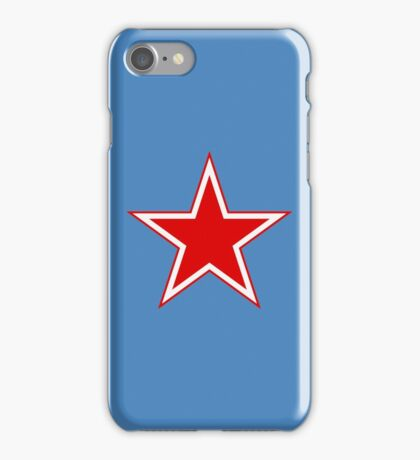 Roundel of the Soviet Air Force iPhone Case/Skin
