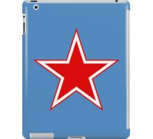 Roundel of the Soviet Air Force iPad Case/Skin