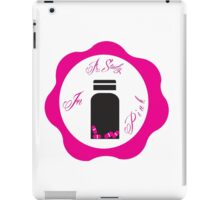 A Study in Pink 'Wax Seal' iPad Case/Skin