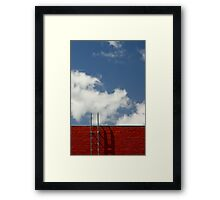 Humpty's Ladder Framed Print