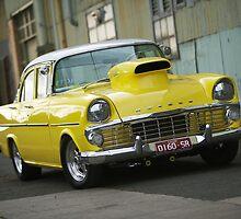 Yellow EK Holden by John Jovic