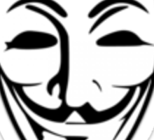 Anonymous Guy Fawkes Sticker