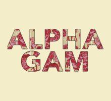 Alpha Gamma Delta - Krass & Co. Pattern 2 by LaurenTank
