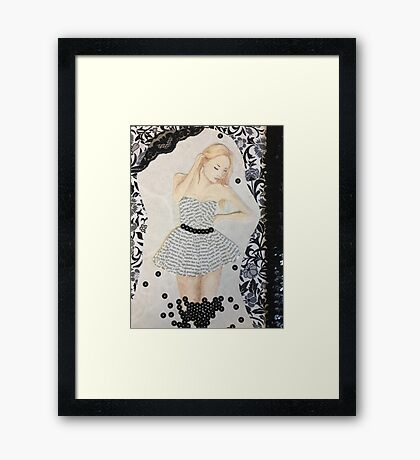 Cover Girl Framed Print
