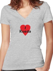 Casino Rueda Clothing Women's Fitted V-Neck T-Shirt