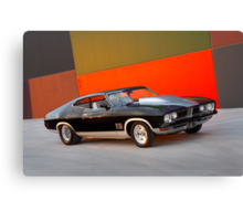 Black Ford XB GT Coupe Canvas Print