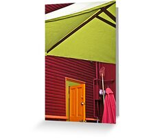 color palette Greeting Card